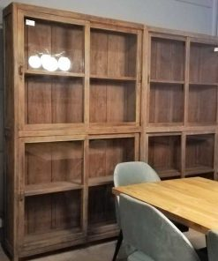 Two Antique Display Cases-1
