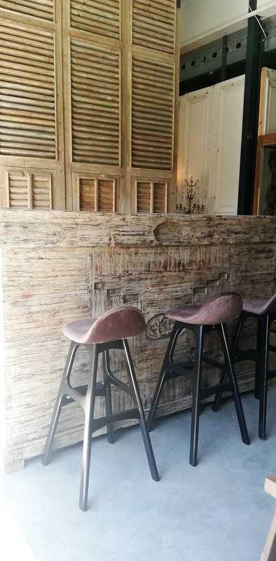 Teak Bar / Kitchen Unit-1