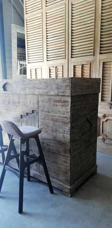 Teak Bar / Kitchen Unit-4