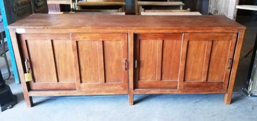 Antique Teak Sideboard-2