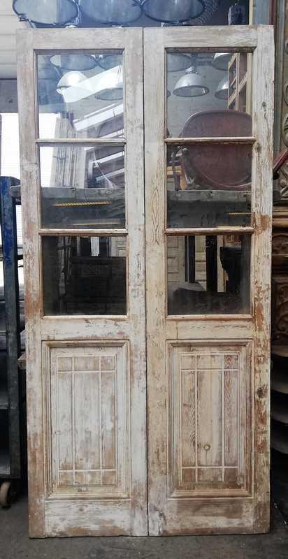 Antique double doors-1