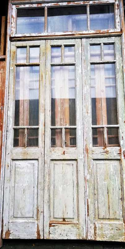 Antique orangery / 3-panel doors-2