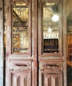 Antique French doors-1