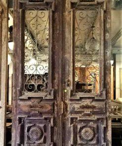 Antieke Franse buiten deuren hxb 360x180 cm-1
