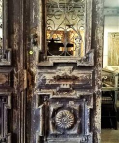 Antique French exterior doors-3