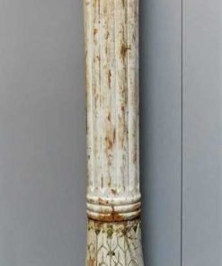 Antique white wooden pillar / column-1
