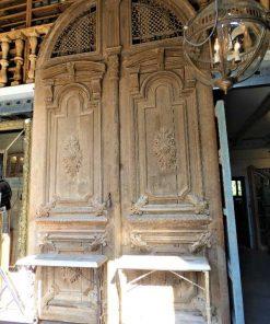Grote antieke deur hxb 485x264 cm-1