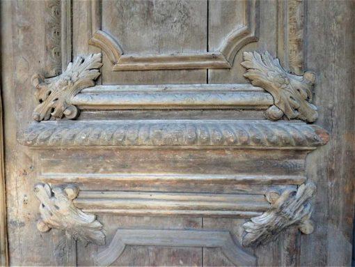 Grote antieke deur hxb 485x264 cm-3