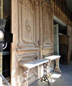 Grote antieke deur hxb 485x264 cm-4