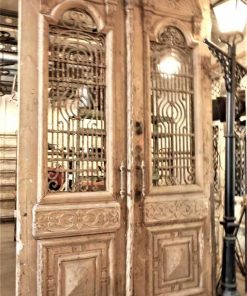 Antique French outside doors-1