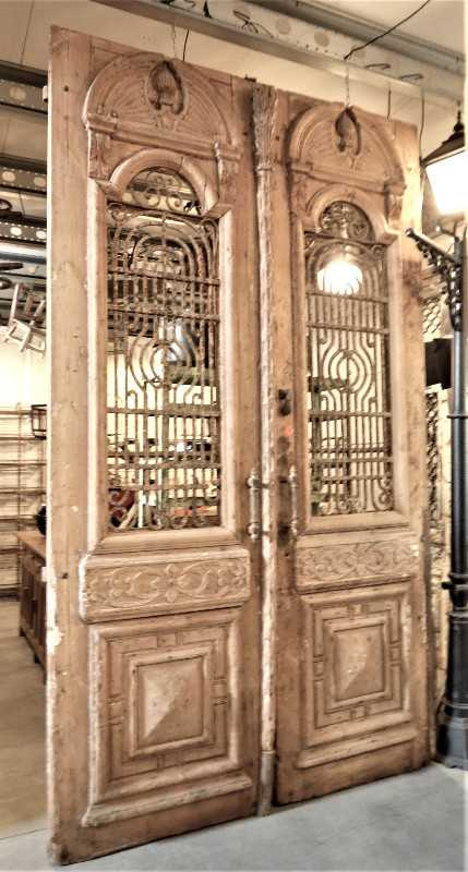 Antique French outside doors-2
