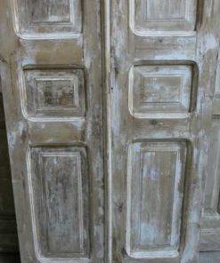 Vintage dubbele paneel deuren / loft deuren hxb 217x94 cm-3