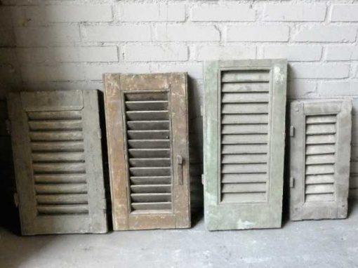 Vintage kleine Fensterläden-2