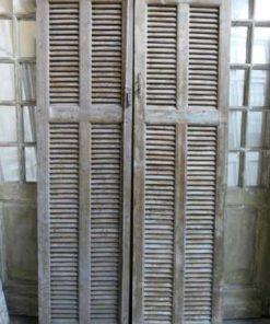 Vintage louvre shutters / doors-1