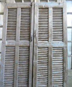 Vintage louvre shutters / doors-2