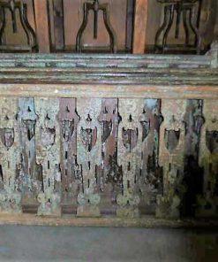 Wooden balustrade-2