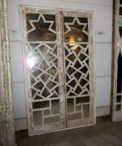 Antique windows with mirrors-1