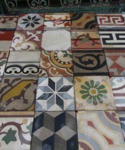 Cement tiles mix-1