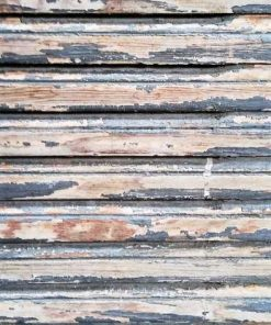 Antique wooden sliding panel-3