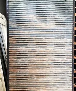 Antique wooden sliding panel-4