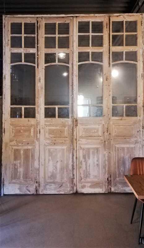 Antike Orangerie-Tür / 4-Takt-Türen-3