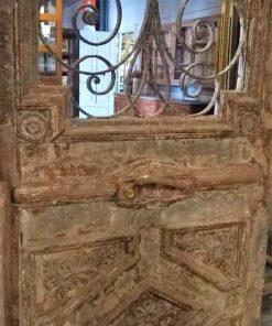 Antieke Franse Buiten Deuren 260x186 Cm-3