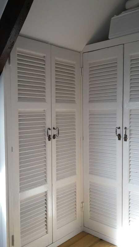 Antieke luiken / shutters voor inbouwkast-1