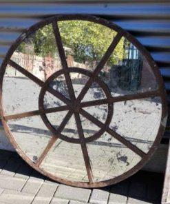 Runder stabiler Fensterspiegel-1