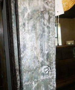 Industrieller Spiegel mit Metallrahmen-5