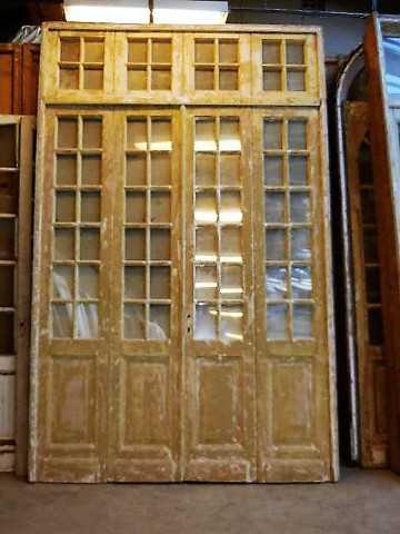 Antique orangery / 4-stroke doors with mirrors-1