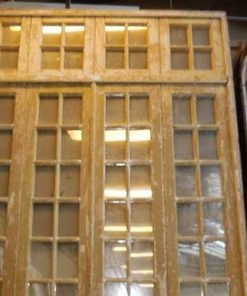 Antique orangery / 4-stroke doors with mirrors-2