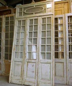 Antique orangery doors
