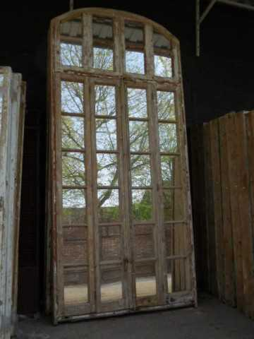 Large antique window with mirrors-1