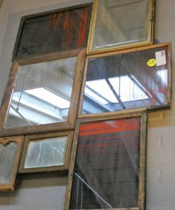 Patchwork of antique mirrors-4