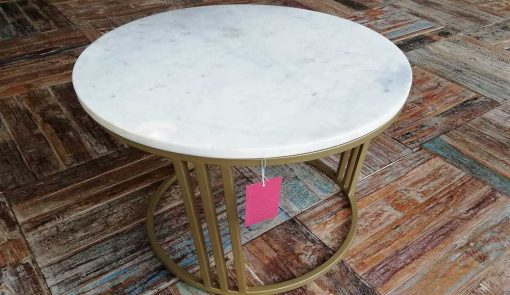 Round coffee table-2