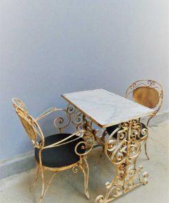 Tuintafel met 2 stoelen-3