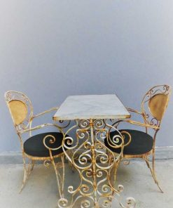 Tuintafel met 2 stoelen-5