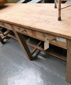 Vintage sidetable / werktafel met laden-2