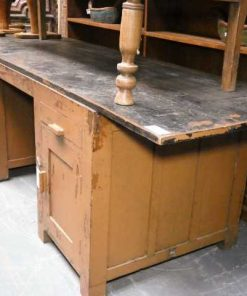 Vintage solid wood workbench / desk-1
