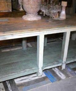 Vintage werktafel / presentatie tafel-1