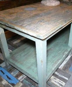 Vintage werktafel / presentatie tafel-4