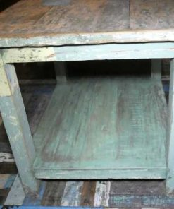 Vintage werktafel / presentatie tafel-5