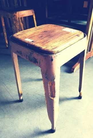 Vintage stools / sidetable-2