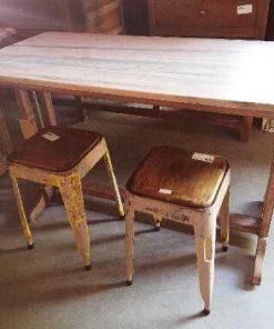 Vintage stools / sidetable-5