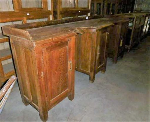 Antique barber / hairdresser's furniture