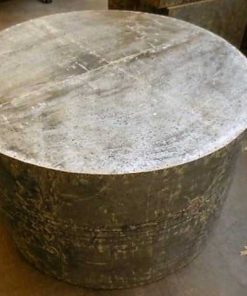 Industrial round coffee table-1