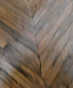 Opium salon table made of coarse wood-3