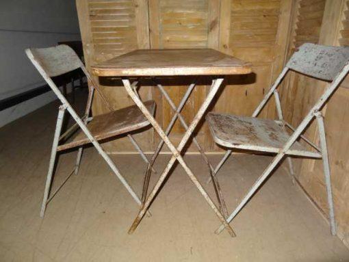 pubtafel set twee stoelen-1