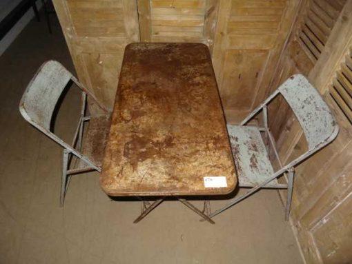 pubtafel set twee stoelen-2