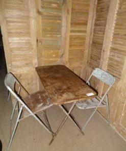 pubtafel set twee stoelen-3